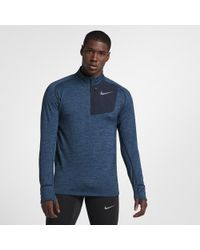 Nike - Therma Sphere Element Men's Long Sleeve Half-zip Running Top - Lyst