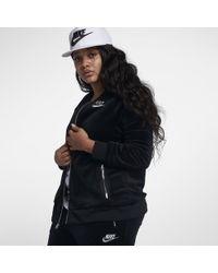 dac68f27eb0d Lyst - Nike Sportswear Quilted Women s Jacket in Black