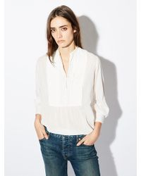 Nili Lotan - Felix Cotton Top - Lyst