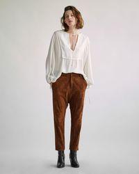 Nili Lotan - Leather Paris Pant - Lyst