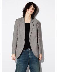 Nili Lotan - Classon Wool Jacket - Lyst