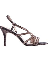 a2d13f813e05 Lyst - Vince Camuto Bronze Snake Rowin Pumps in Metallic