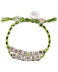 Venessa Arizaga - Exclusive | Word To Your Mother Bracelet - Lyst