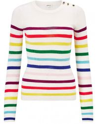 Manoush - Arc En Ciel Merino Wool Sweater - Lyst