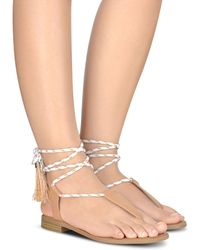 Nine West | Gannon Thong Sandals | Lyst