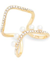 Vince Camuto - G-double Row Ring - Lyst
