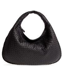 Bottega Veneta - Large Veneta Leather Hobo - - Lyst