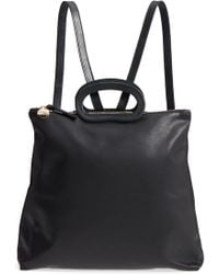 Clare V. - Marcelle Lambskin Leather Backpack - Lyst