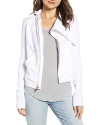 Frank & Eileen - Tee Lab Zip Fleece Jacket - Lyst