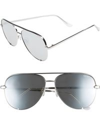 Quay - X Desi Perkins High Key 62mm Aviator Sunglasses - Lyst