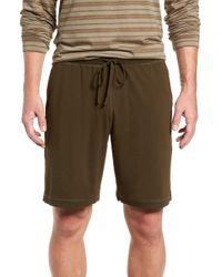 Daniel Buchler - Stretch Cotton & Modal Lounge Shorts - Lyst