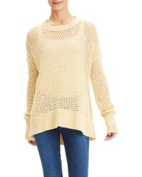 Theory - Karenia Crochet Sweater - Lyst