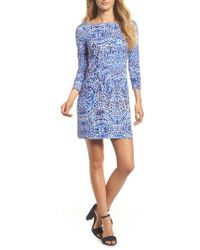 Lilly Pulitzer | Lilly Pulitzer Sophie Upf 50+ Shift Dress | Lyst