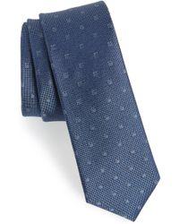 Calibrate - Felsic Geometric Silk Tie - Lyst