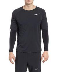 Nike - Run Division Dry Layered Long Sleeve T-shirt - Lyst