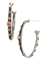 Konstantino - Hoop Earrings - Lyst