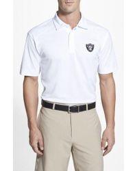 Cutter & Buck - 'oakland Raiders - Genre' Drytec Moisture Wicking Polo - Lyst