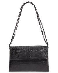 Nancy Gonzalez - Genuine Crocodile Shoulder Bag - Lyst