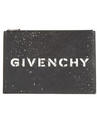 Givenchy - Iconic Faux Leather Pouch - - Lyst