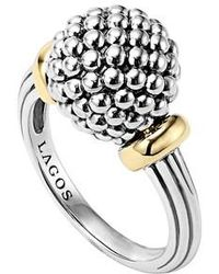 Lagos - Caviar Forever Medium Dome Ring - Lyst