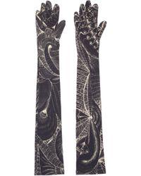 Dries Van Noten - Tattoo Print Gloves - Lyst