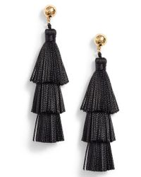 Gorjana - Havana Tassel Earrings - Lyst