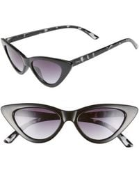 Circus by Sam Edelman - 55mm Extreme Cat Eye Sunglasses - Lyst