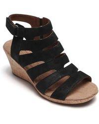 Cobb Hill - Janna Asymmetrical Sandal - Lyst