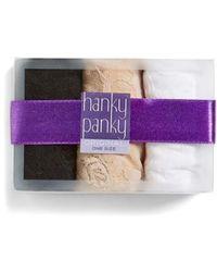 Hanky Panky - Original Rise Thong - Lyst