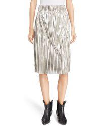 Étoile Isabel Marant - Delphina Metallic Skirt - Lyst