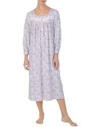 Eileen West - Flannel Nightgown - Lyst