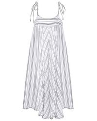 Robin Piccone - Norah Stripe Cover-up Dress - Lyst