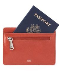 Hobo - 'euro Slide' Credit Card & Passport Case - Lyst