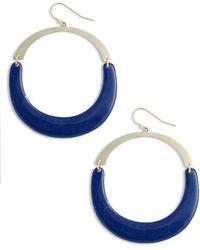 Argento Vivo - Large Open Drop Earrings - Lyst