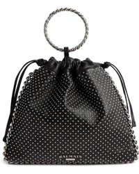 Balmain - Studded Leather Bracelet Backpack - Lyst