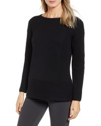 Chaus - Ribbed Cotton Sweater - Lyst