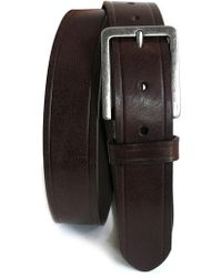 Boconi - Embossed Leather Belt - Lyst