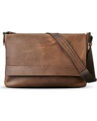 Shinola - Leather E/w Messenger Bag - - Lyst