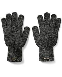 Filson - Wool Blend Knit Gloves - Lyst