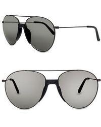 Smoke X Mirrors | Fortunate Son 55mm Aviator Sunglasses | Lyst