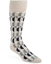 Cole Haan - Geometric Socks - Lyst