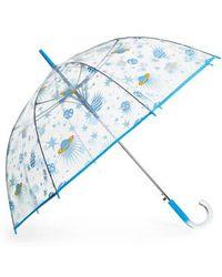Shedrain - 'the Bubble' Auto Open Stick Umbrella - Lyst