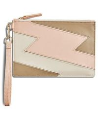 Shinola - Bolt Nappa Leather Wristlet - Lyst