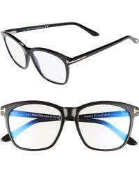 Tom Ford - 54mm Blue Block Optical Glasses - Lyst