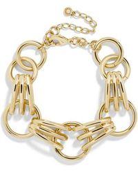 BaubleBar - Mariya Link Bracelet - Lyst