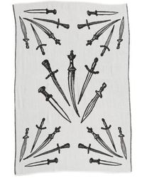 Rag & Bone - 'dagger' Oversized Jacquard Scarf - Lyst