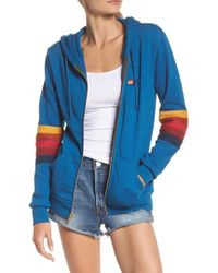 Aviator Nation - Hawaii Patch Cotton Blend Hoodie Sweatshirt - Lyst