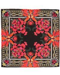 Givenchy - Iris Silk Twill Square Scarf - Lyst