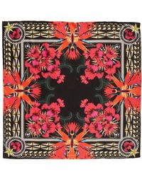 Givenchy | Iris Silk Twill Square Scarf | Lyst