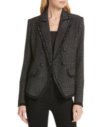 Veronica Beard - Frisco Tweed Jacket - Lyst
